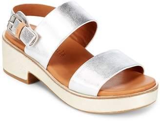 Gentle Souls Women's Talia Leather Sandals