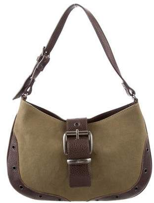 Barbara Bui Grommet Shoulder Bag