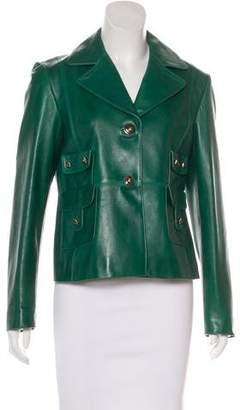 Valentino Leather Rockstud Jacket