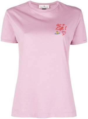 Vivienne Westwood 'Get a life' T-shirt