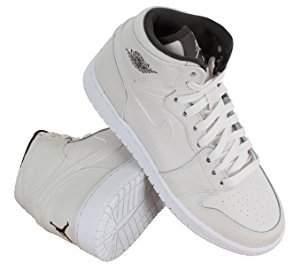 Nike JORDAN 1 RETRO HI PREM GG girls basketball-shoes 705296-022_8.5Y - PHANTOM/DARK STORM/GYM RED/MTLC PEWTER