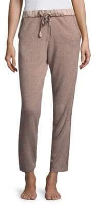 Natori Ribbed Cashmere Jogger Pants