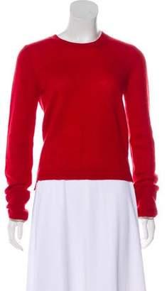 Burberry Nova Check-Trimmed Cashmere Sweater