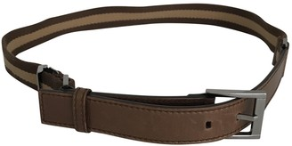 Gucci Brown Cloth Belts
