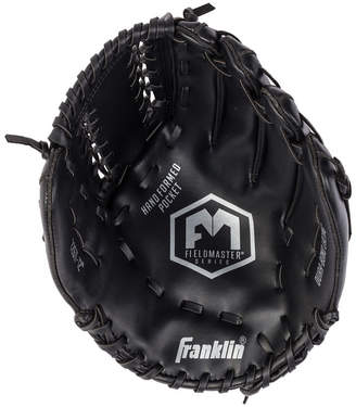 "Franklin Sports Field Master Midnight Series 12.0"" Baseball Glove-Right Handed Thrower"
