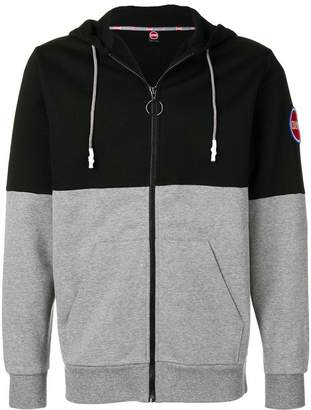 Colmar colourblock zip hoodie