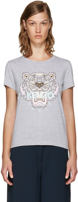 Kenzo Grey Limited Edition Tiger T-Shirt $115 thestylecure.com