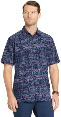 Van Heusen Men's Air Classic-Fit Patterned Button-Down Shirt