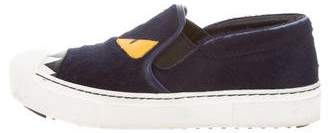 Fendi Monster Slip-On Sneakers
