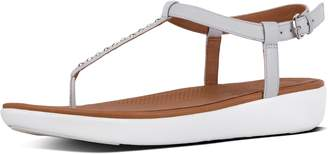 FitFlop Tia Pearl Stud Leather Sandals