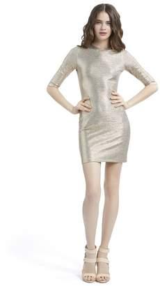 Alice + Olivia Delora Fitted Mini Dress