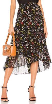 See by Chloe Ruffle Midi Skirt