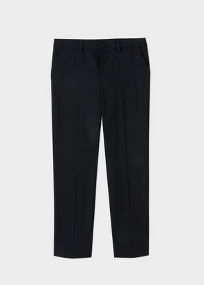 Paul Smith Boys' 12-16 Years Navy 'A Suit To Smile In' Wool Pants