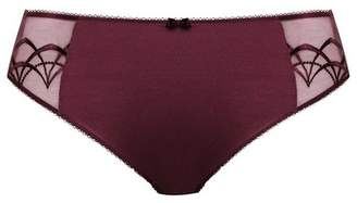 Evans Elomi Red Cate Claret Knickers