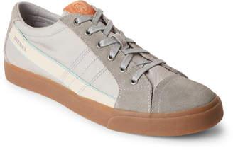 Diesel Grey D-Velows D-String Low Top Sneakers