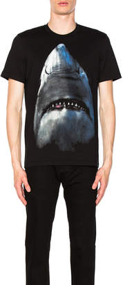 Givenchy Cuban Fit Shark Tee