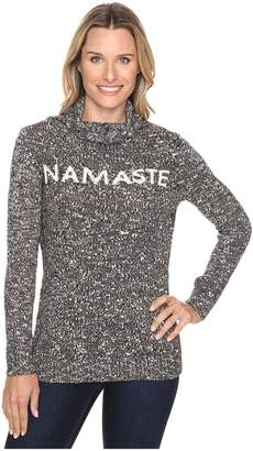 Life is Good Namaste Funnel Neck Sweater Women's Sweater
