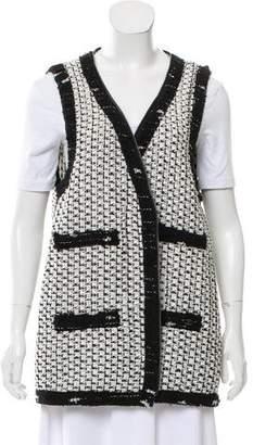 Chanel 2016 Longline Knit Vest
