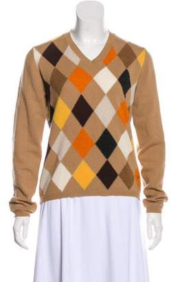 Burberry Patterned Knit Sweater