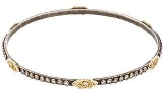 Armenta Diamond Oxidized Scrolls Bracelet