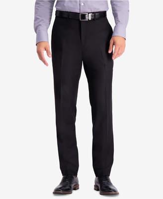 Kenneth Cole Reaction Men Slim-Fit Stretch Premium Textured Weave Dress Pants