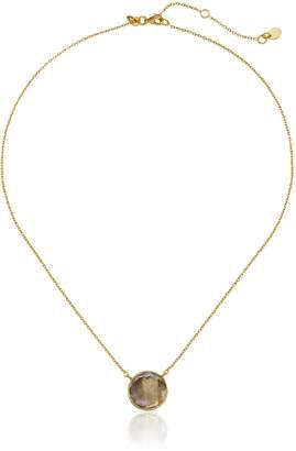 "Argentovivo Round Small Pendant Necklace, 16"""
