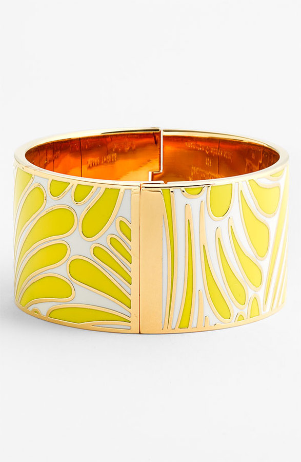 Kate Spade 'idiom - bright spark' wide bangle (Nordstrom Exclusive)