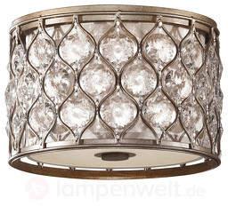 Hübsche Deckenlampe Lucia mit Kristallen