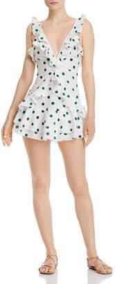 Nightwalker Valentina Dotted Mini Dress