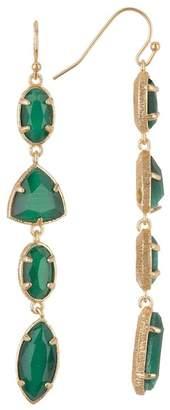14th & Union Multi Stone Drop Earrings