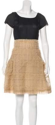 Chanel Embellished Tulle Dress