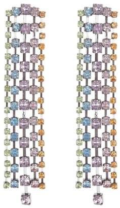 Free Press Pastel Crystal Linear Earrings