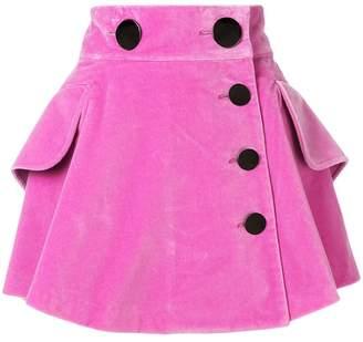 Alexander Wang Velvet mini skirt