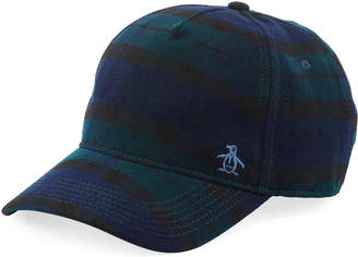 Original Penguin Penguin Plaid Baseball Cap