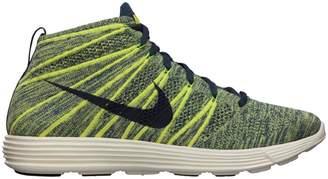 Nike Lunar Flyknit Chukka Squadron Blue Electric Yellow