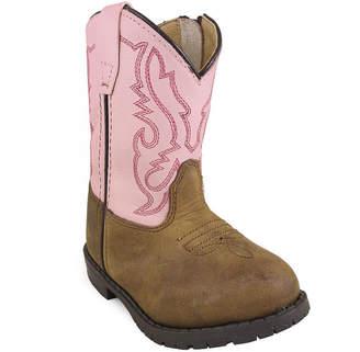 SMOKY MOUNTAIN Smoky Mountain Kid's Hopalong Distress Leather Cowboy Boot Toddler