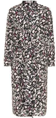 Acne Studios Doree floral-printed silk dress