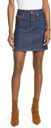 Tommy Hilfiger Crest Denim Miniskirt