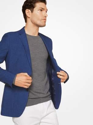 Michael Kors Slim-Fit Linen and Wool Blazer
