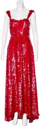 Valentino Silk Embellished Gown w/ Tags