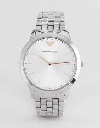 Emporio Armani AR2484 ladies stainless steel watch