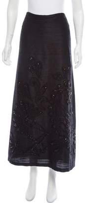 Megan Park Embellished Midi Skirt w/ Tags