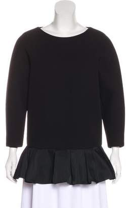 Viktor & Rolf Structured Long Sleeve Top