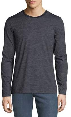 BOSS Men's Heathered Long-Sleeve T-Shirt