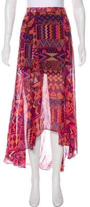 Mara Hoffman Printed Midi Skirt
