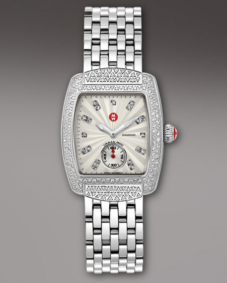 Michele Watches Urban Mini Diamond Watch & Bracelet