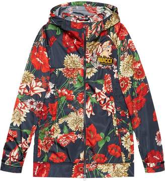363bb0f1191 Gucci Spring bouquet nylon jacket