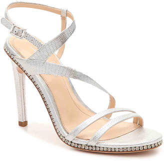 Vince Camuto Imagine Gian Sandal -Silver Metallic Leather - Women's