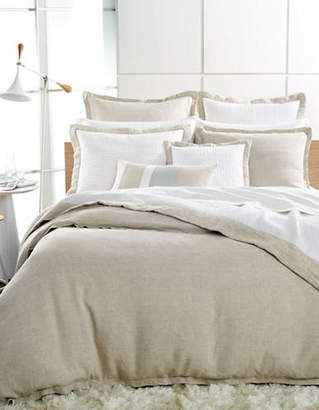 Hotel Collection Natural Linen Euro Pillow Sham