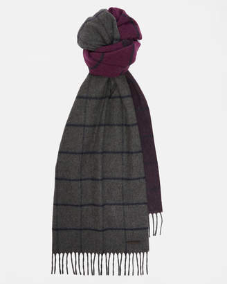 Ted Baker HEMLOCK Ombré windowpane check scarf